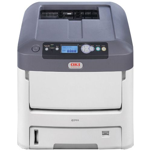 DISCONTINUED - Oki C711DN Printer title=