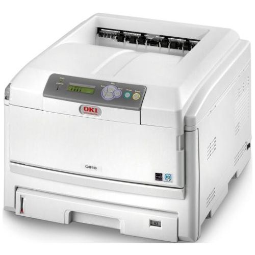 DISCONTINUED - Oki C810N Colour Laser Printer title=