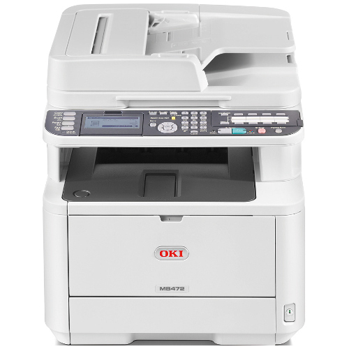 Oki MB472dnw Multifunction Mono Laser Wireless Printer + Duplex title=
