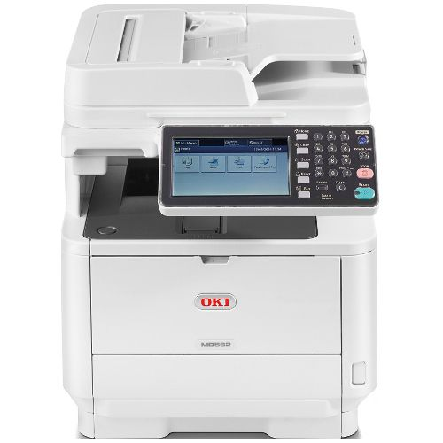 DISCONTINUED - Oki MB562dnw Multifunction Mono Laser Wireless Printer + Duplex
