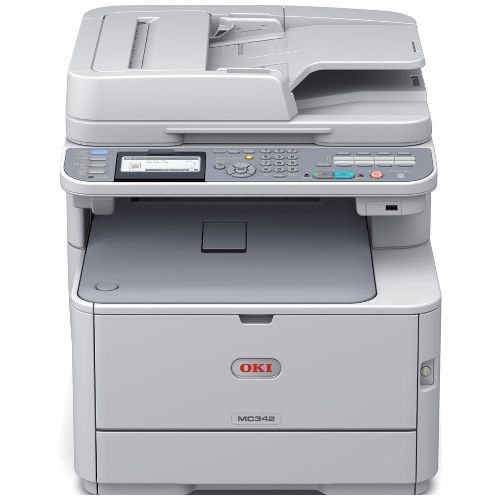Oki MC342dnw Multifunction Colour Wireless Laser Printer title=