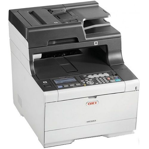 Oki MC563dn Multifunction Colour Laser Wireless Printer + Duplex title=