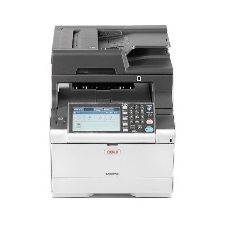 Oki MC573dn Multifunction Colour Laser Printer + Duplex title=