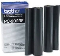 Brother 2-Pack PC-202RF Value Pack Genuine