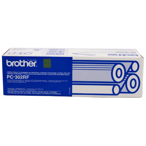 Brother PC-302RF 2 Pack Bundle (Genuine) title=