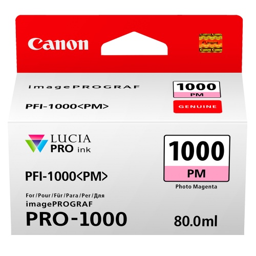 Canon PFI-1000PM Photo Magenta (Genuine)
