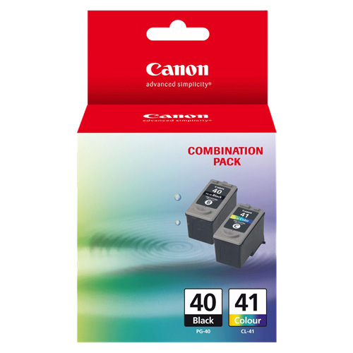 Canon PG-40/CL-41 2 Pack Bundle (Genuine) title=