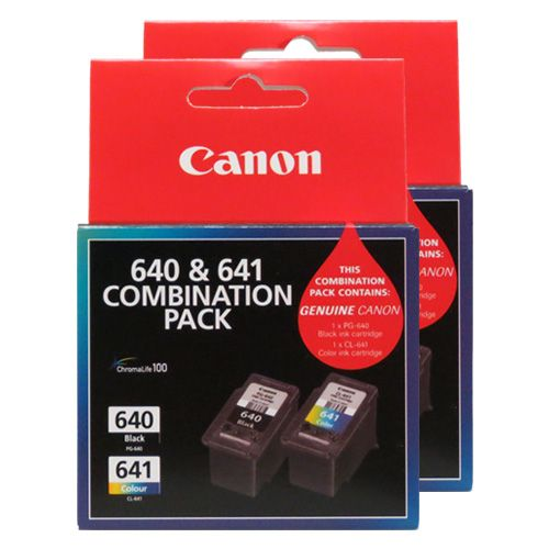 Canon PG-640/CL-641 4 Pack Bundle (Genuine) title=