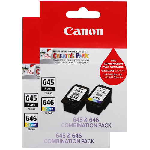Canon PG-645/CL-646 4 Pack Value Pack (Genuine) title=