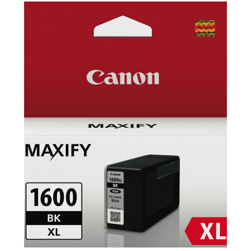 Canon PGI-1600XLBK Black High Yield (Genuine) title=