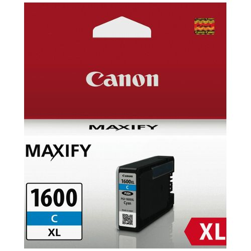 Canon PGI-1600XLC Cyan High Yield (Genuine) title=
