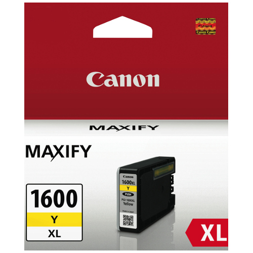 Canon PGI-1600XLY Yellow High Yield (Genuine) title=