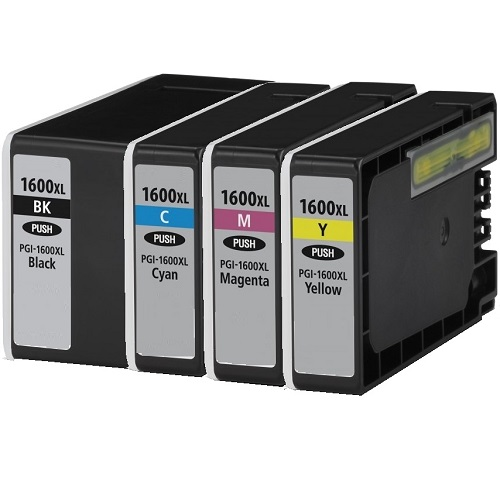 Compatible 10-Pack PGI-1600XL Bundle Ink Cartridges