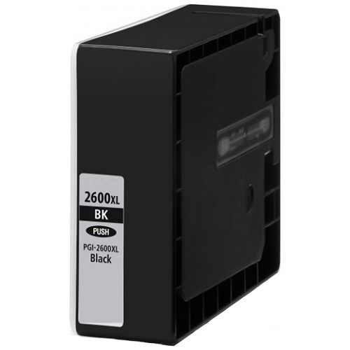 Compatible PGI-2600XLBK Black High Yield title=