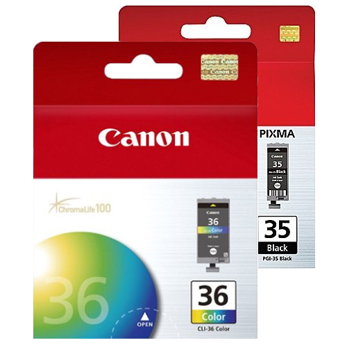 Canon PGI-35/CLI-36 2 Pack Bundle (Genuine)