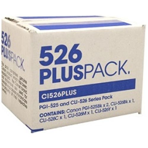 Canon PGI-525BK/CLI-526 6 Value Pack (Genuine) title=
