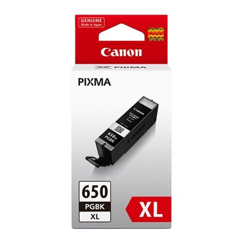 Canon PGI-650XLB Black High Yield (Genuine) title=