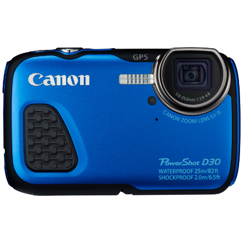 DISCONTINUED - Canon PowerShot D30 Camera title=
