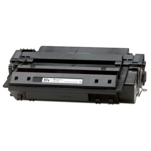 Remanufactured 51X Black High Yield (Q7551X) title=