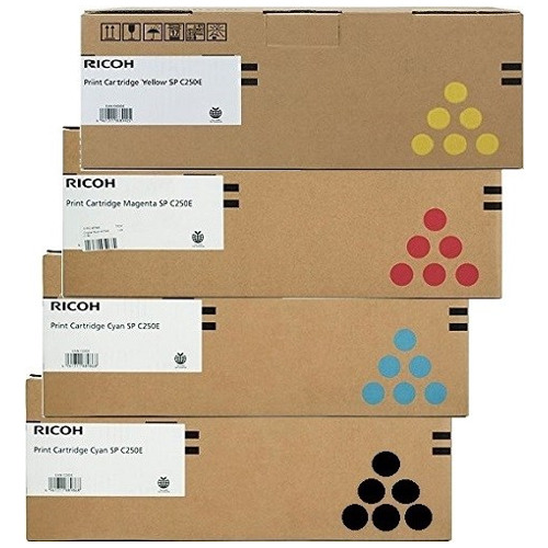 Ricoh 407547-50 8 Pack Bundle (Genuine) title=