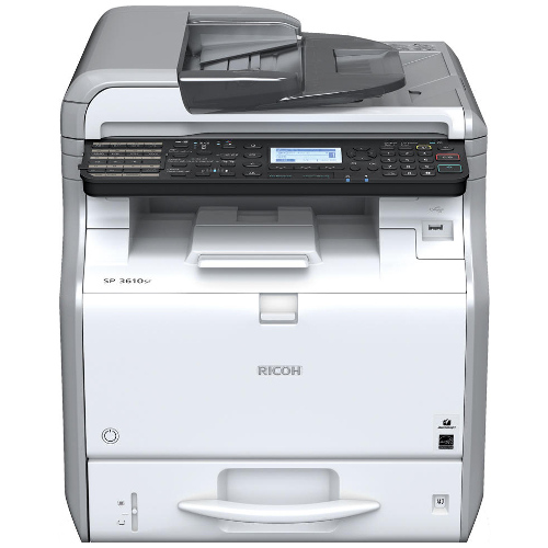 DISCONTINUED - Ricoh SP 3610SF Multifunction Mono Laser Printer title=