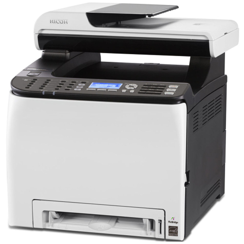 Ricoh SP C252SF Multi Function Colour Laser Wireless Printer + Duplex title=