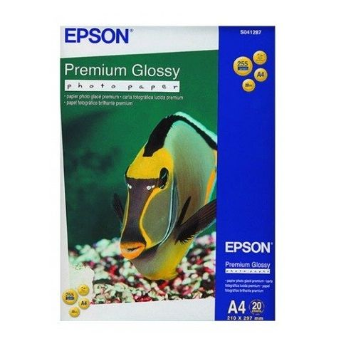 Epson S041287 White A4 Specialty Paper title=