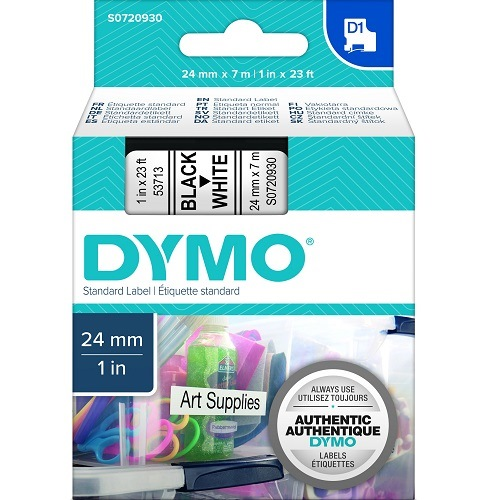 DYMO S0720930 Black on White (Genuine)