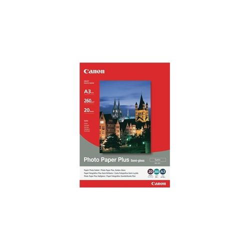 Canon SG-201A3 A3 Semi Gloss Photo Paper title=