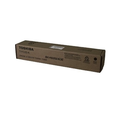 Toshiba T-FC25-K Black Toner Cartridge Genuine