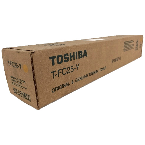 Toshiba T-FC25-Y Yellow (Genuine) title=
