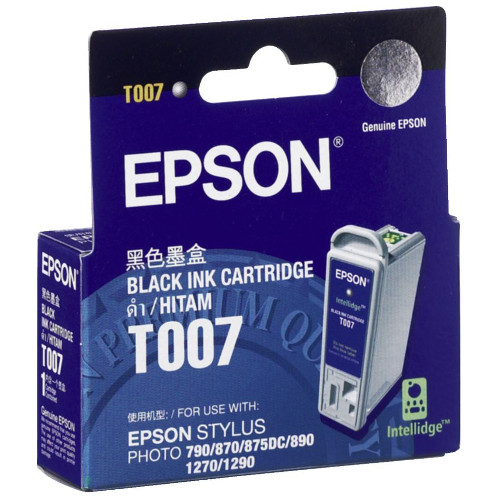 DISCONTINUED - Epson T007 Black (Genuine) title=
