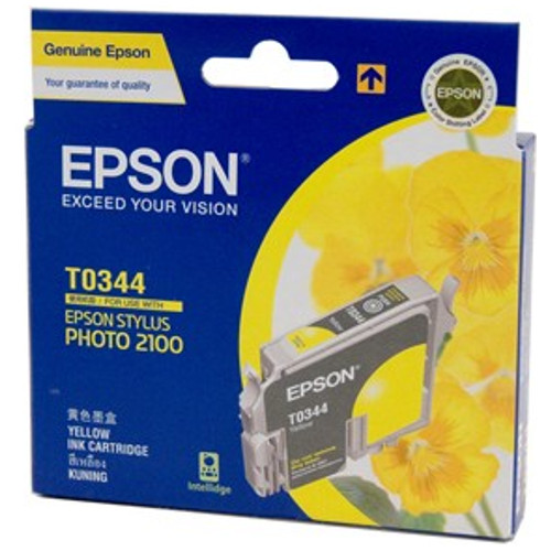 Epson T0344 Yellow (Genuine) title=