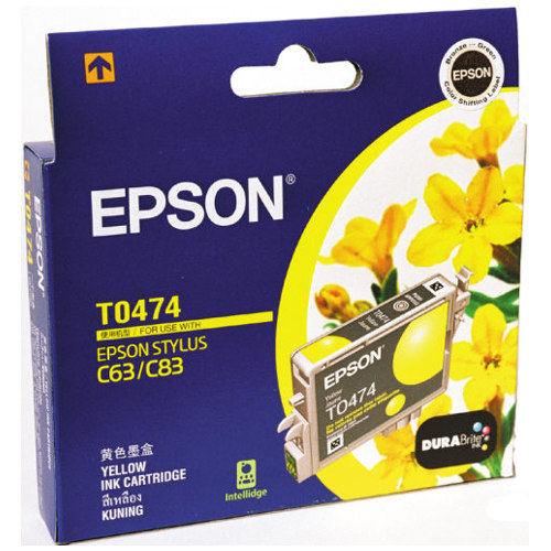Epson T0474 Yellow (Genuine) title=