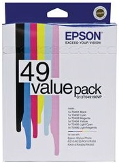 Epson T049# 6 Pack Bundle (Genuine) title=