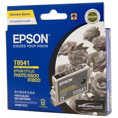 Epson T0541 Photo Black Ink Cartridge Genuine