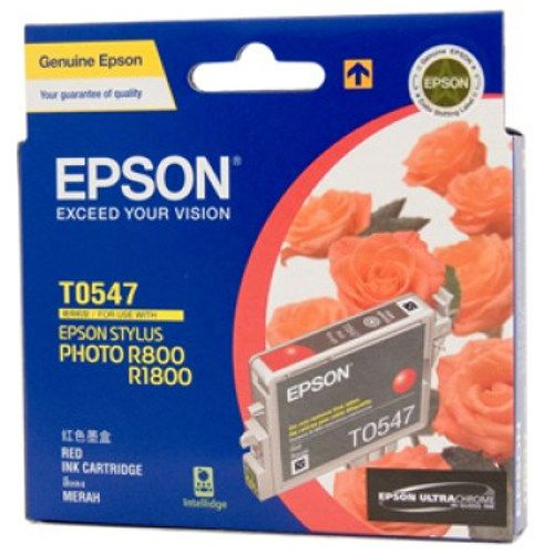 Epson T0547 Red (Genuine) title=