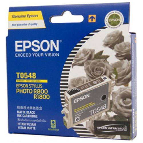 Epson T0548 Matt Black (Genuine) title=