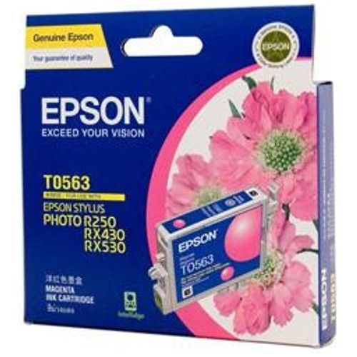 DISCONTINUED - Epson T0563 Magenta (Genuine) title=