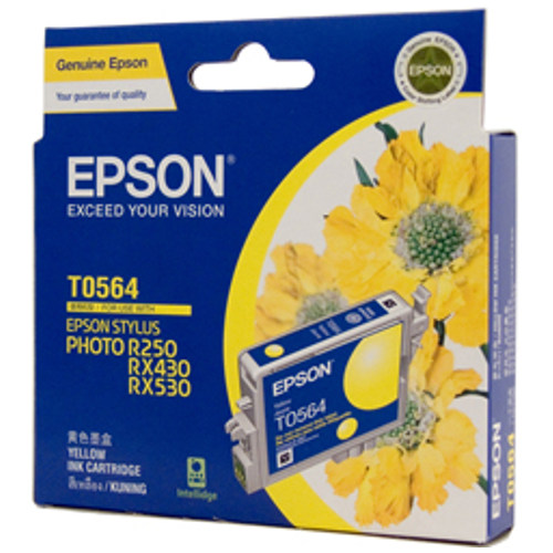 Epson T0564 Yellow (Genuine) title=