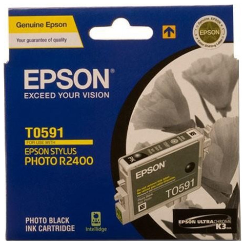 Epson T0591 Photo Black (Genuine) title=