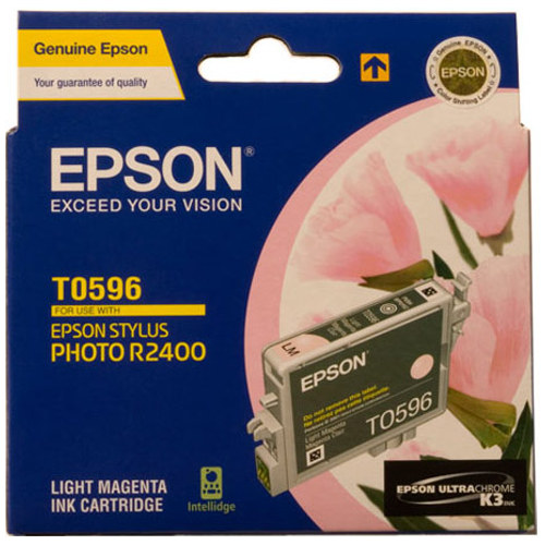 Epson T0596 Light Magenta (Genuine) title=