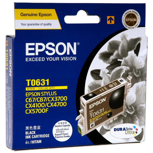 Epson T0631 Black (Genuine) title=