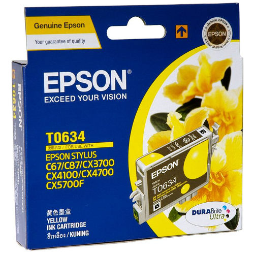 Epson T0634 Yellow (Genuine) title=