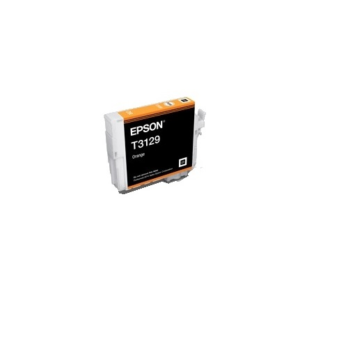 New Epson T3129 UltraChrome Hi-Gloss2 Orange Ink Printer Cartridge