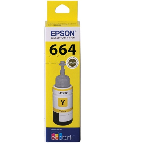 Epson T664 Yellow (C13T664492) (Genuine) title=