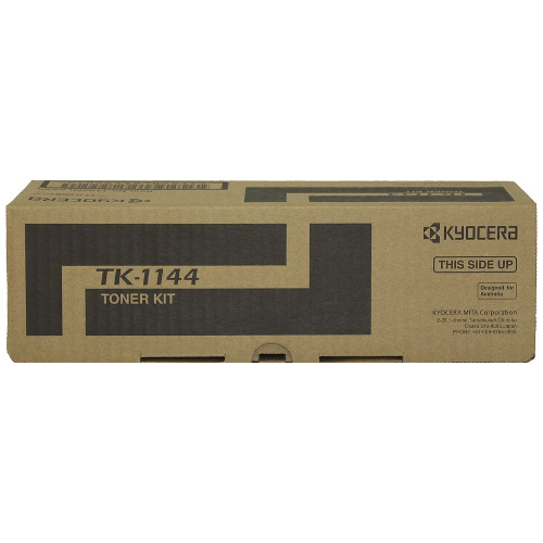 Kyocera TK-1144 Black High Yield (Genuine) title=