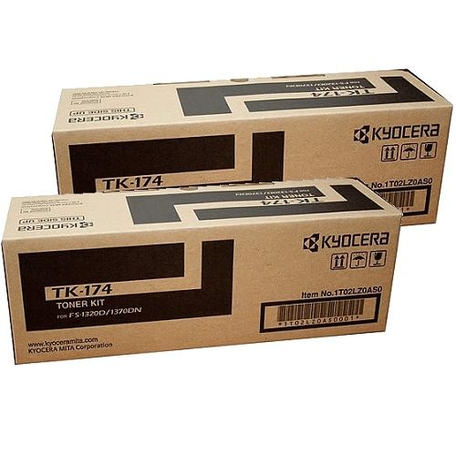 Kyocera TK-174 2 Pack Bundle (Genuine) title=