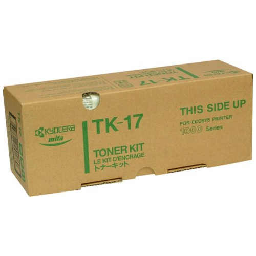 DISCONTINUED - Kyocera TK-17 Black (Genuine) title=