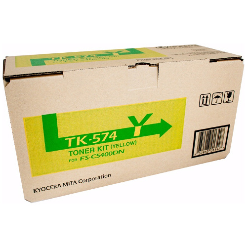 Kyocera TK-574Y Yellow Toner Cartridge Genuine